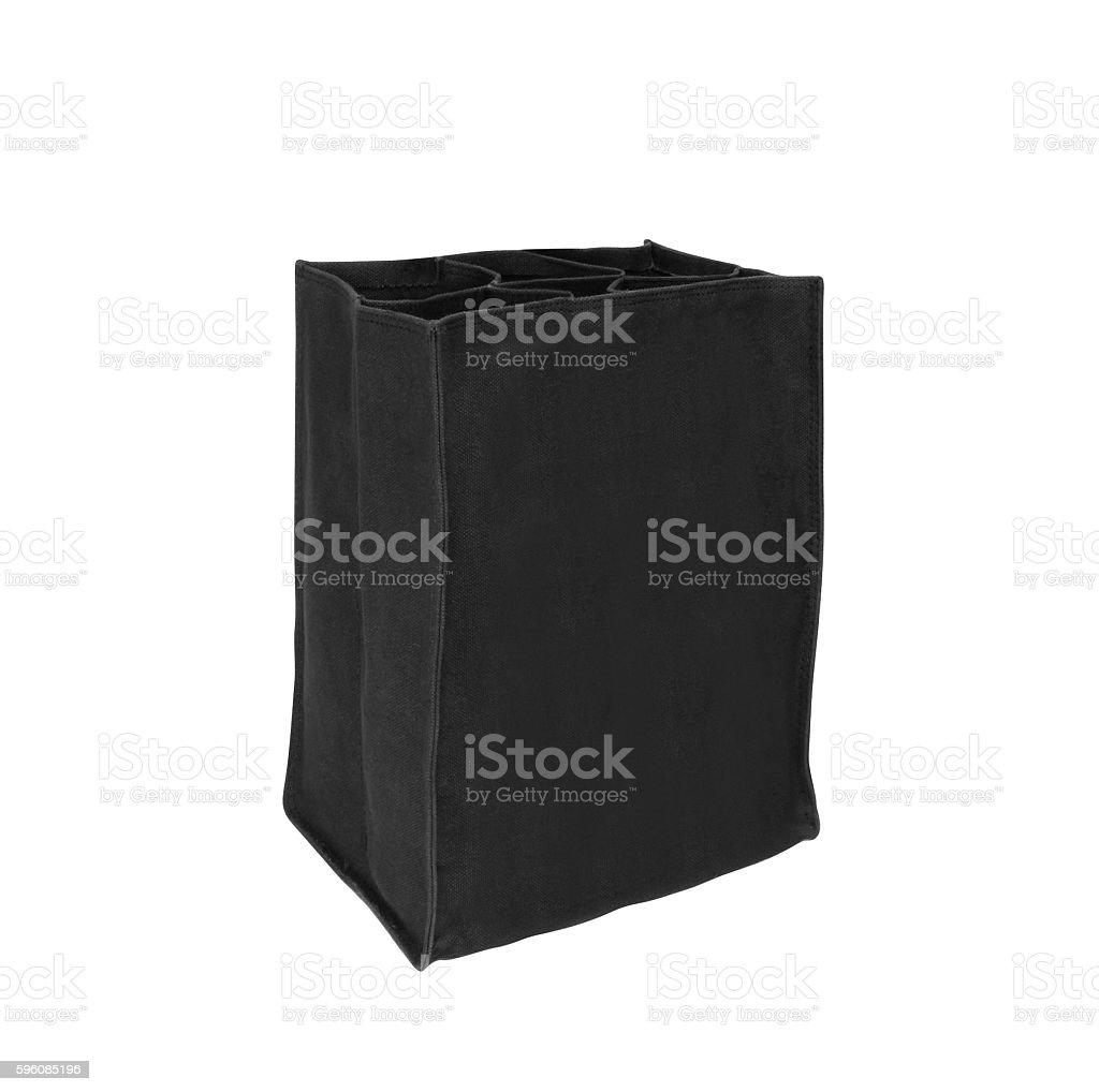 cotton bag on white royalty-free stock photo