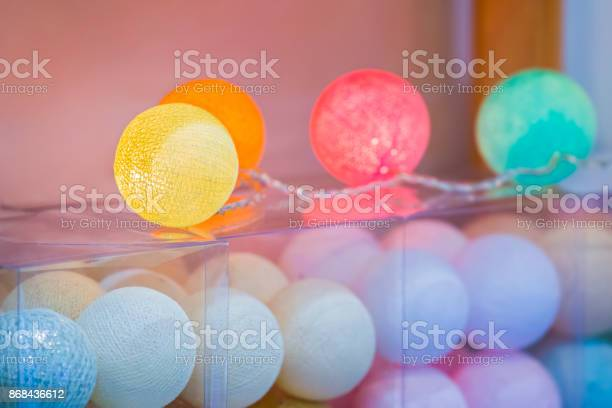 Cotton balls lights creative decoration with colorful cotton light picture id868436612?b=1&k=6&m=868436612&s=612x612&h=fwpbacsv8gw2m5o ych68wumg4un0jjxygbcddjjsao=