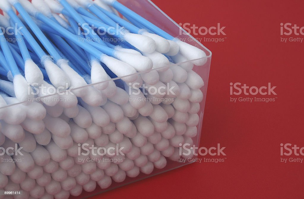 cotton cleaning sticks #3 royalty-free stock photo