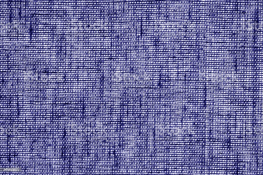 Cotton fabric texture in blue color. royalty-free stock photo