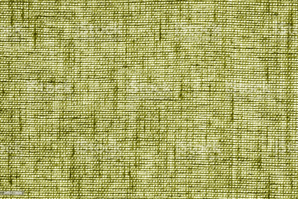 Cotton fabric texture in yellow color. zbiór zdjęć royalty-free