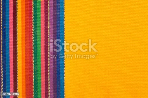 istock Cotton, Linnen, Wool Textile Fabric Canvas Detail Background 187872886
