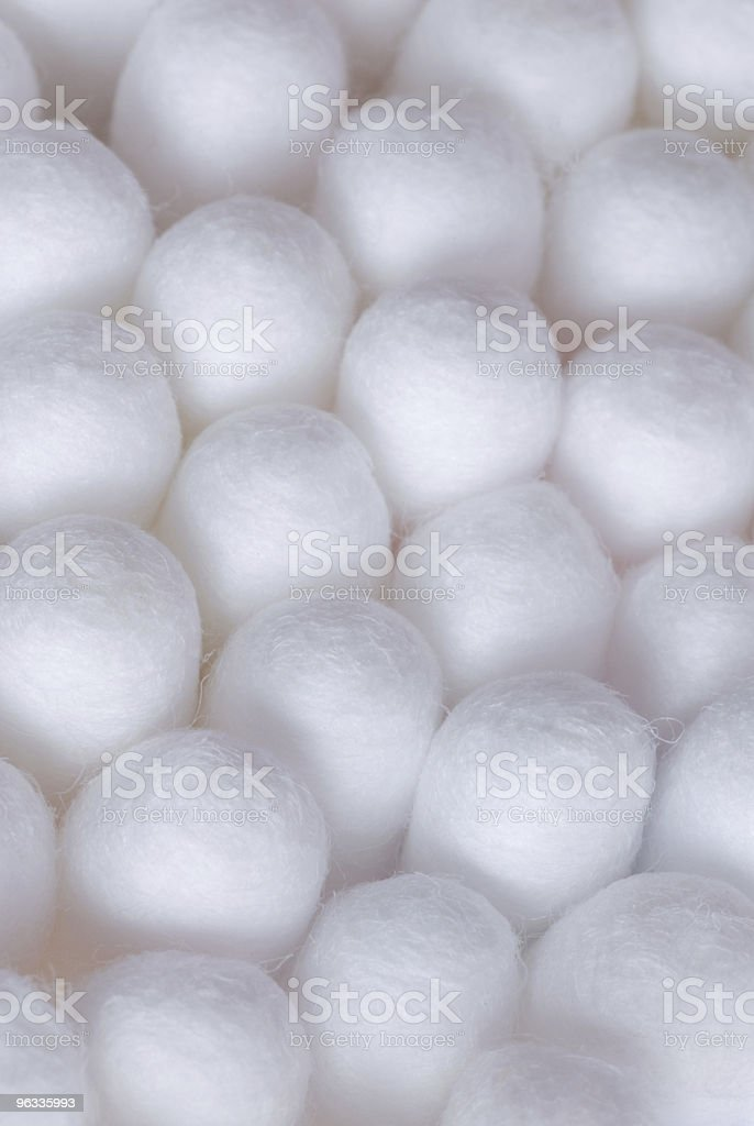 Cotton macro royalty-free stock photo