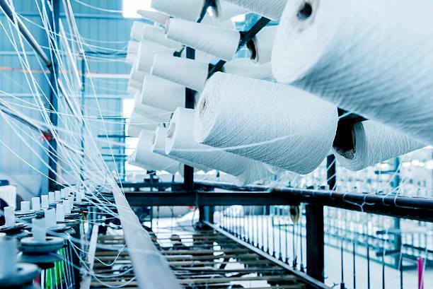 fabryka bawełny - przemysł włókienniczy zdjęcia i obrazy z banku zdjęć