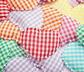 Cotton Padded Hearts