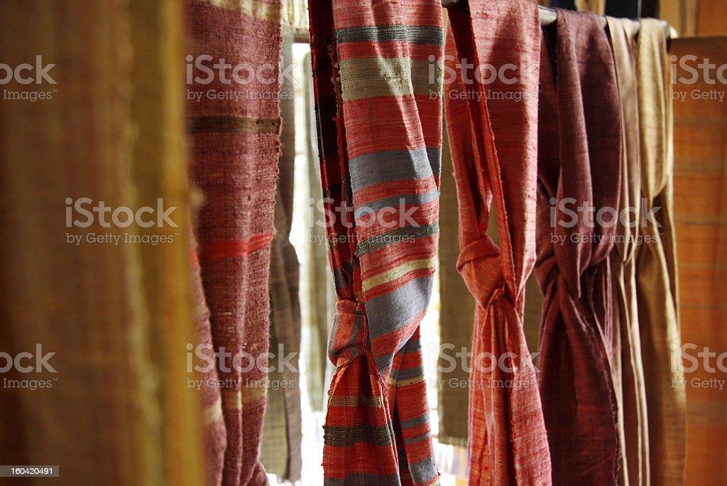 cotton scarf royalty-free stock photo