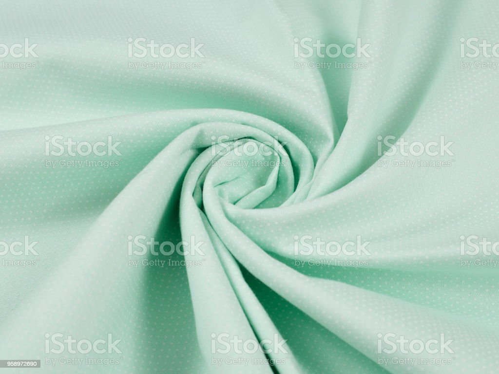 Cotton Spiral Fabric Cotton Fabric Background Material Stock Photo