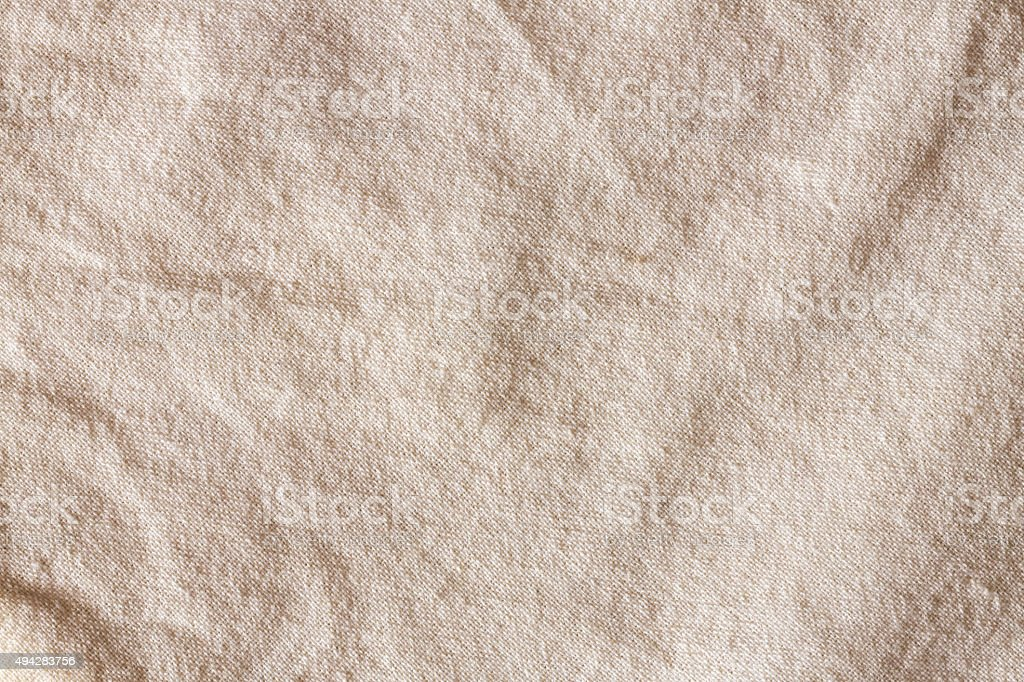 Cotton Textile Canvas Coarse Grunge Texture stock photo