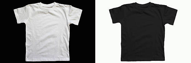 cotton T-shirt stock photo