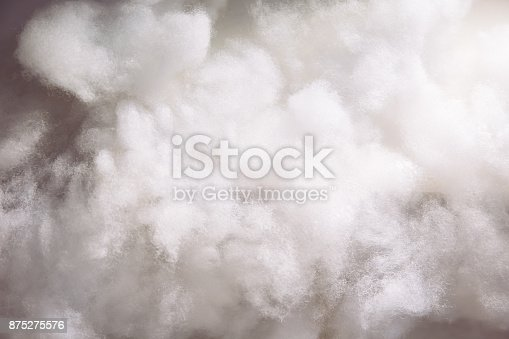 Cotton wools making it as clouds for background wallpaper