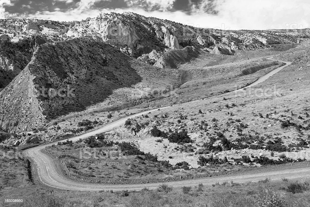 Cottonwood Canyon Road, Utah. royalty-free stock photo