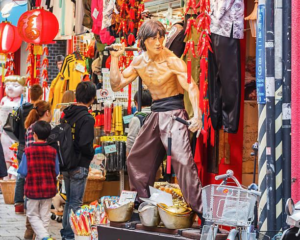 Cotume compras em Nankinmachi em Kobe - foto de acervo