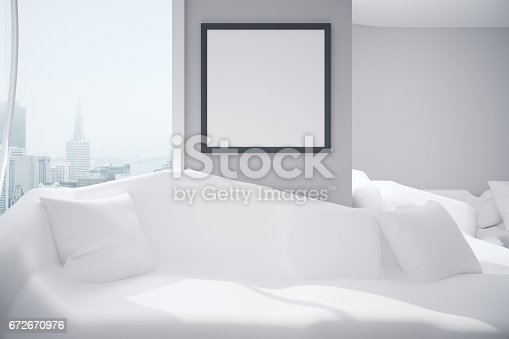 istock Couch and frame 672670976