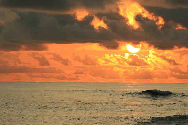coucher du soleil – Foto