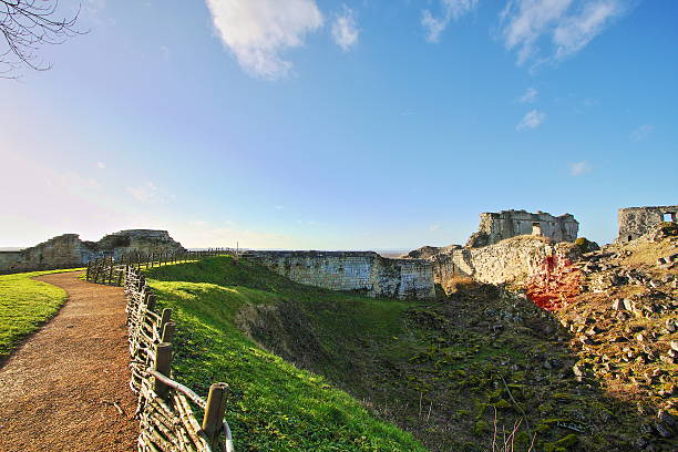 Coucy-le-Chateau Coucy-le-Chateau in Aisne,Picardy region of france aisne stock pictures, royalty-free photos & images