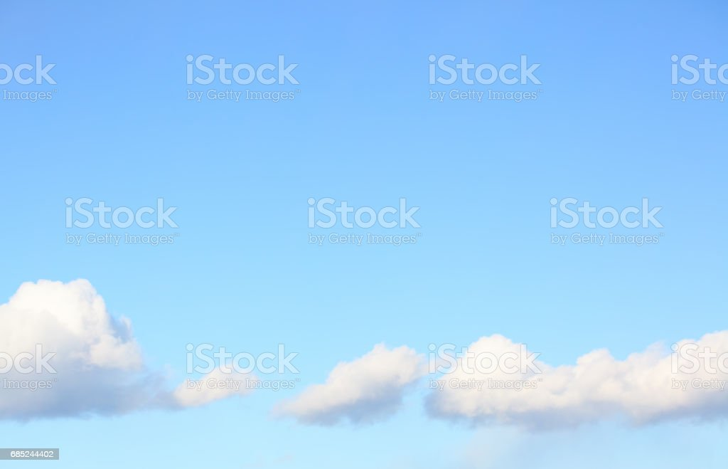 Couds in the blue sky foto de stock royalty-free