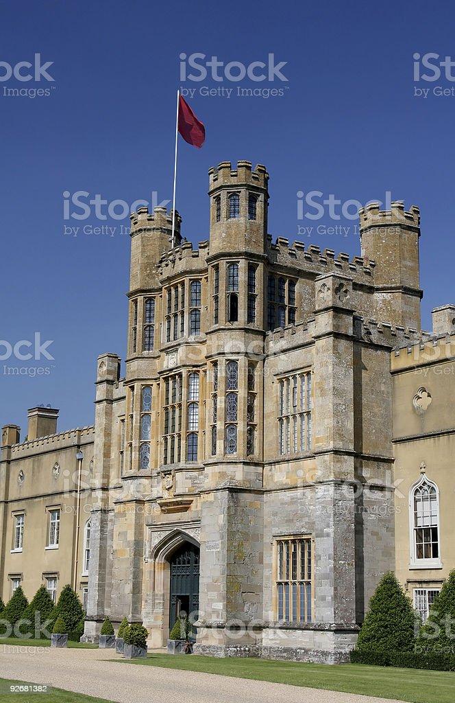 Coughton Court Entrance royalty-free stock photo