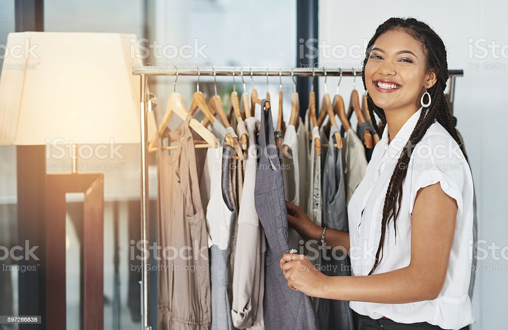I could give up shopping, but I'm no quitter royalty-free stock photo