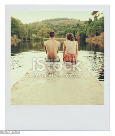 istock Could this be a blossoming young romance? 507062495