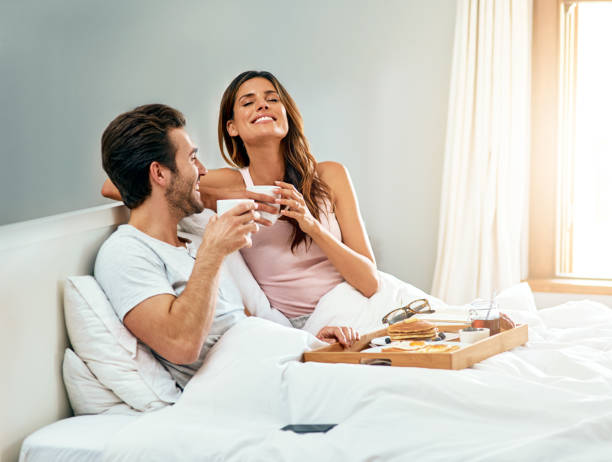 I could wake up like this every day stock photo