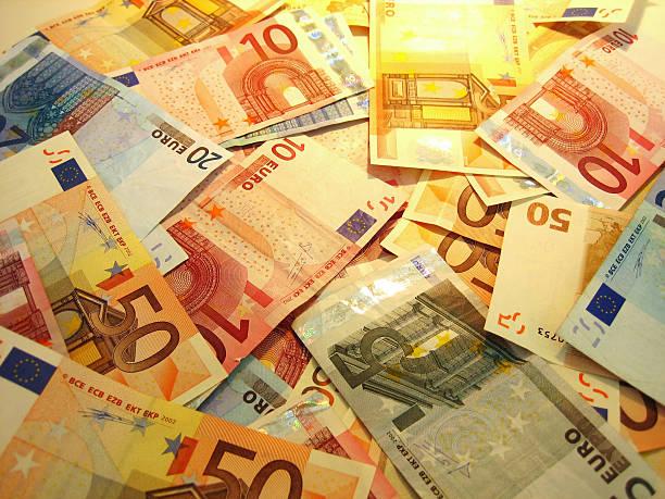 coulourful euro Hintergrund – Foto