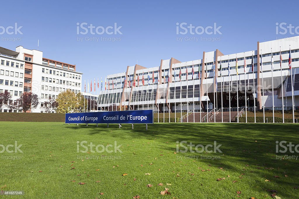 Council of Europe stock photo