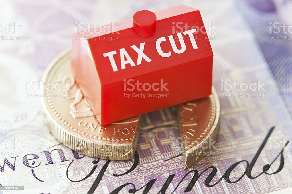 Council Tax Cuts royalty-free stock photo