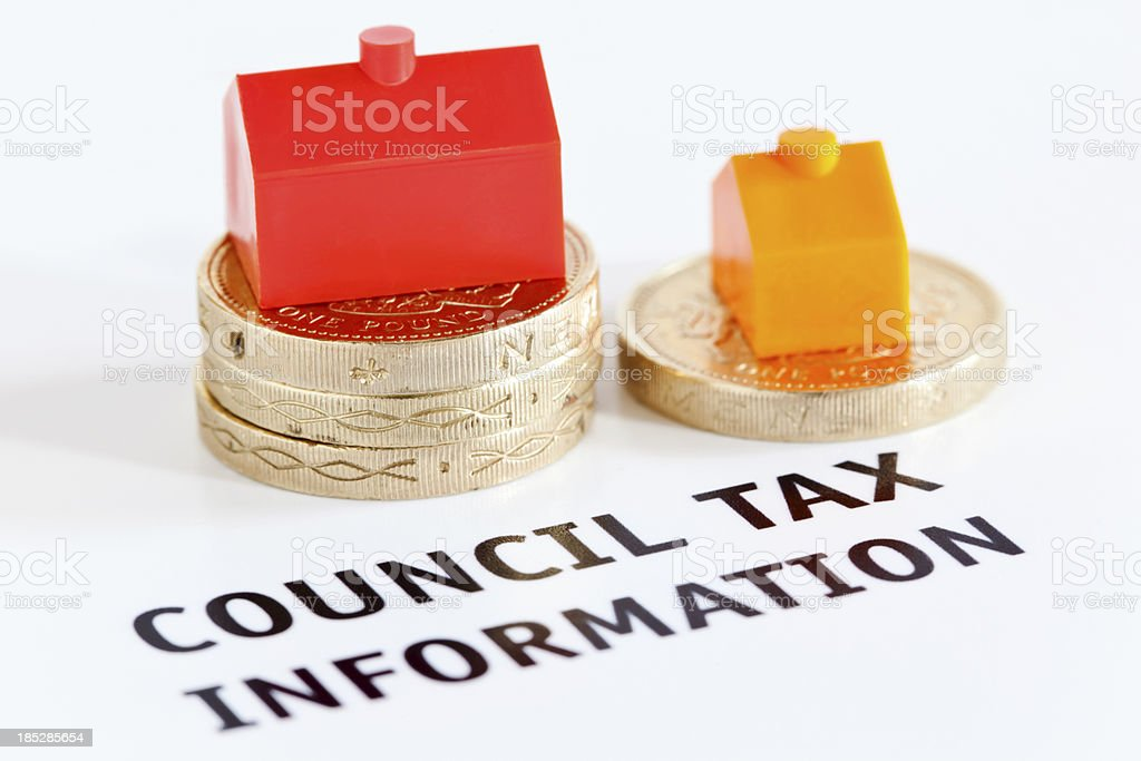 Council Tax royalty-free stock photo