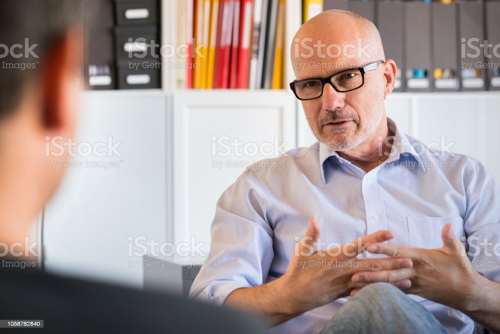 Counseling Session royalty-free stock photo