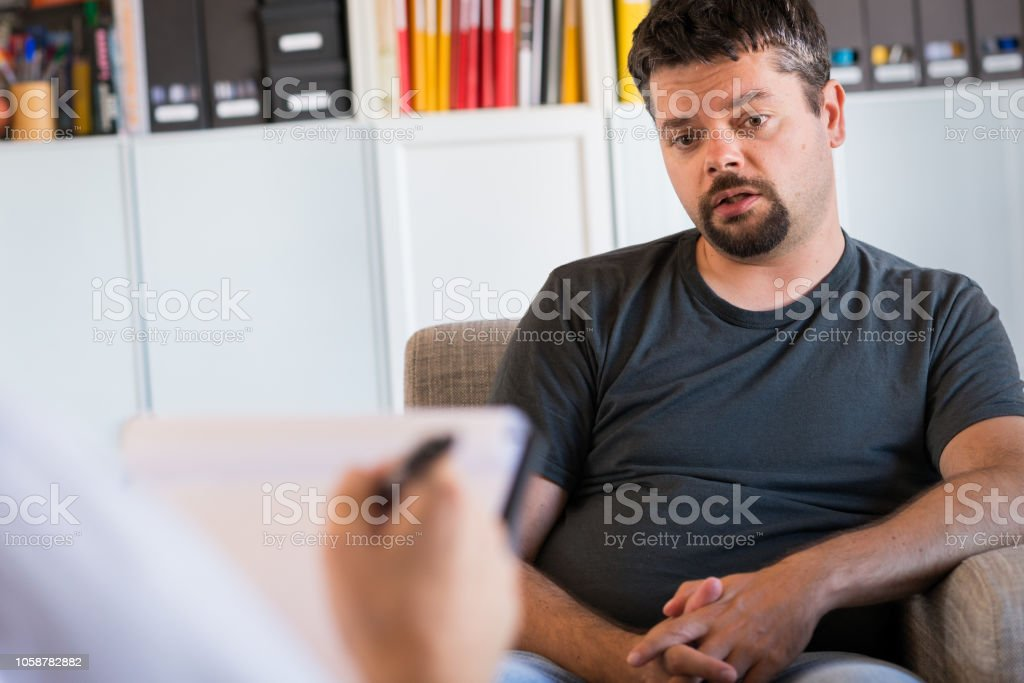 Counseling Session stock photo