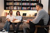 istock Counseling Session psychiatrist talking to couple client 1134992461
