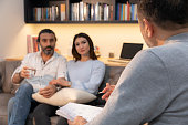 istock Counseling Session psychiatrist talking to couple client 1134993223