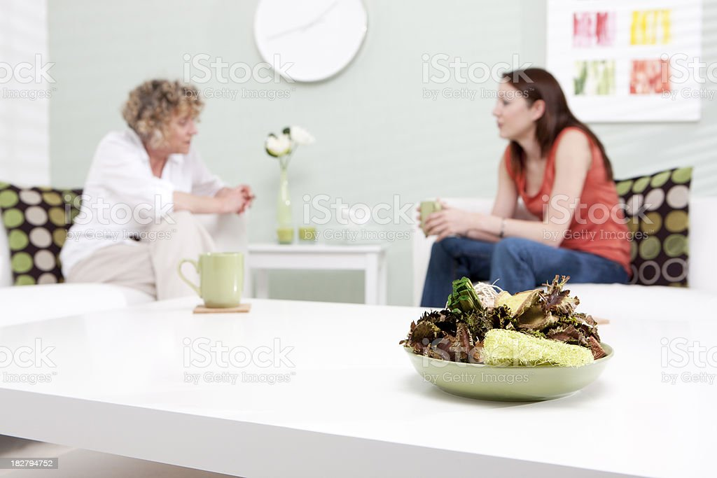 counselling session: discussing issues royalty-free stock photo