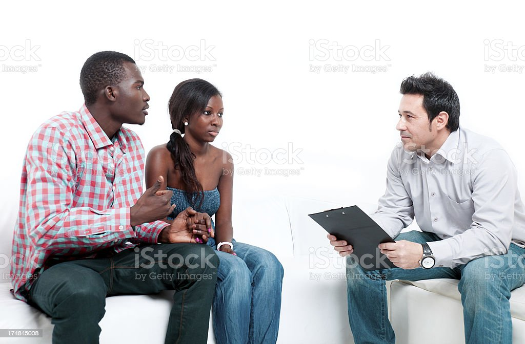 counselor royalty-free stock photo