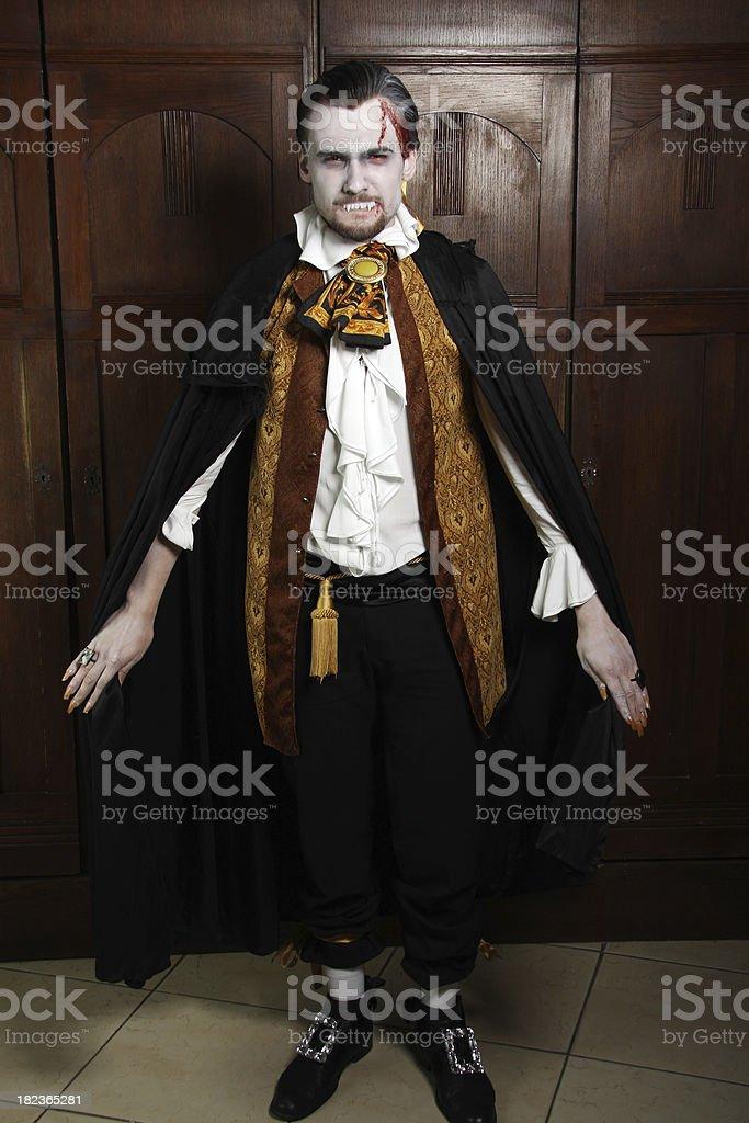 Count Dracula royalty-free stock photo
