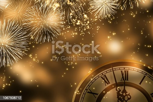 istock countdown at the new years eve party 1067508712