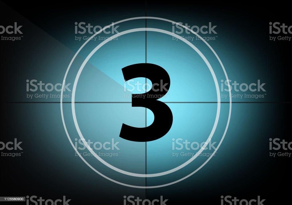 Countdown number three