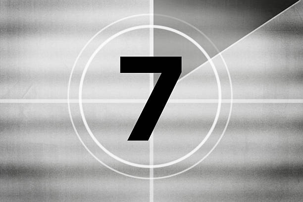 Countdown (Click for more) Countdown number 7 stock pictures, royalty-free photos & images