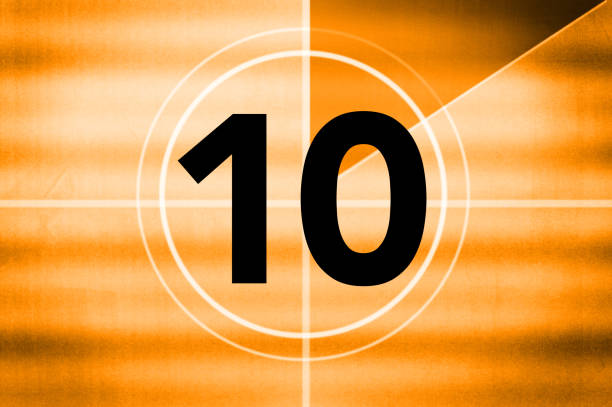 countdown - number 10 stock photos and pictures