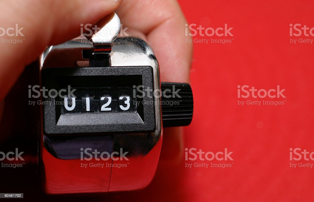 Countdown stock photo