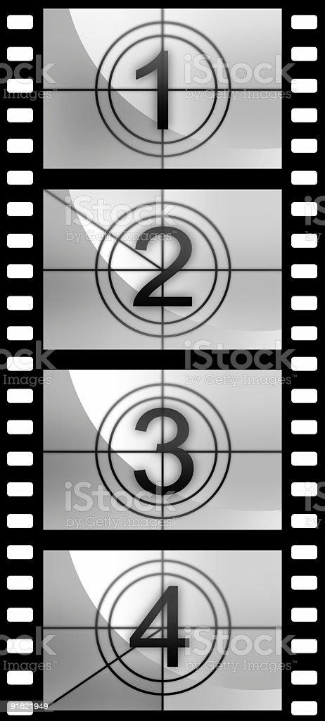 Countdown texture royalty-free stock photo