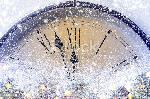 istock Countdown to midnight 1063662314