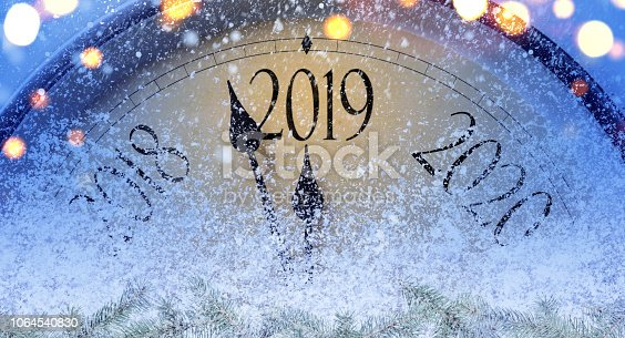 istock Countdown to midnight 1064540830