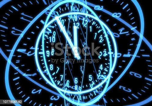 istock Countdown to midnight 1077806140