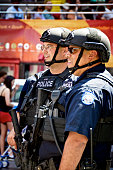 NYPD Counter-Terrorism Officers, Times Square, Manhattan, New York City