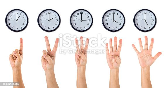 466657402 istock photo Counting Hands and Clocks 466657034