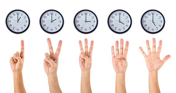 istock Counting Hands and Clocks 466657034