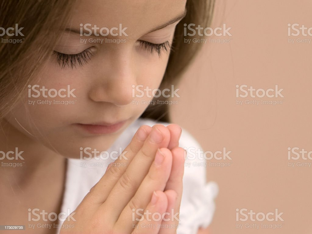 Counting My Blessings royalty-free stock photo