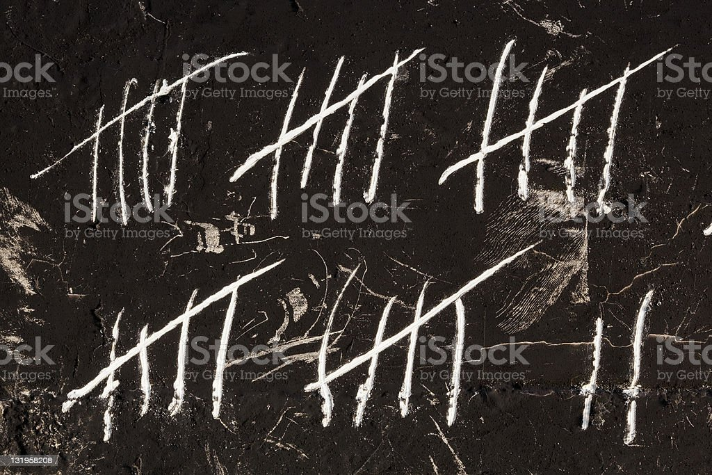 Counting stock photo