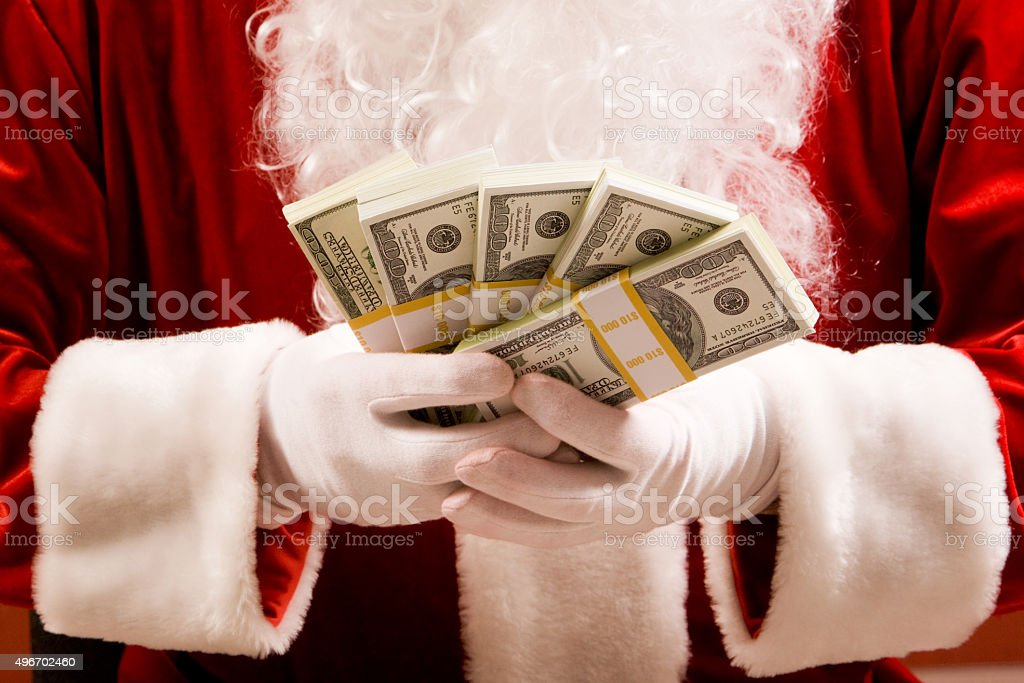 Counting profit stock photo
